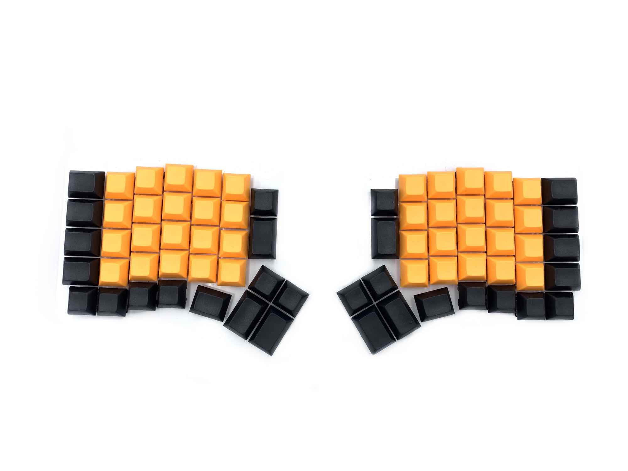 DSA KeyCaps (left & right keyboards) ReDox (LIMITED EDITION)